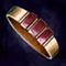 Garnet Copper Ring