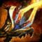 Fiery Dragon Sword